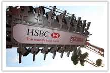 Líbano - HSBC - Dinner in the Sky