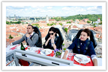 Lituania - Vilnus - Dinner in the Sky