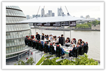 Londres - Hugo Boss - Dinner in the Sky